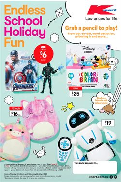 Kmart catalogue in Adelaide SA ( 18 days left )