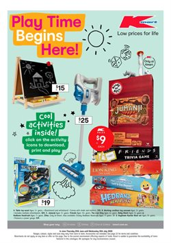 Kmart catalogue ( 11 days left )