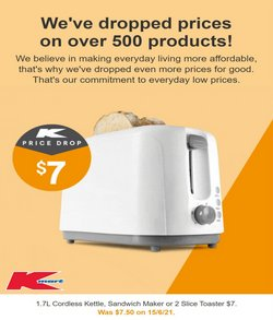 Kmart specials in the Kmart catalogue ( 8 days left)
