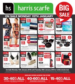 Offers from Harris Scarfe in the Canberra ACT catalogue