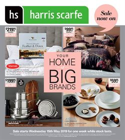 Offers from Harris Scarfe in the Beverley WA catalogue
