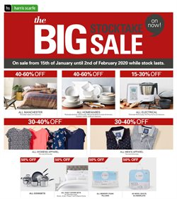 Offers from Harris Scarfe in the Brisbane QLD catalogue