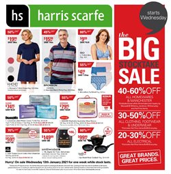 Harris Scarfe catalogue ( Expires today )