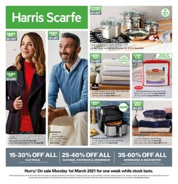 Harris Scarfe catalogue ( Expires tomorrow )