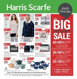 Harris Scarfe specials in the Harris Scarfe catalogue ( Expired)