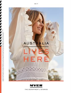 Offers from Myer in the Perth WA catalogue