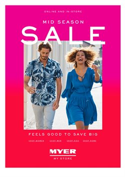 Offers from Myer in the Brisbane QLD catalogue