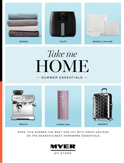 Offers from Myer in the Melbourne VIC catalogue