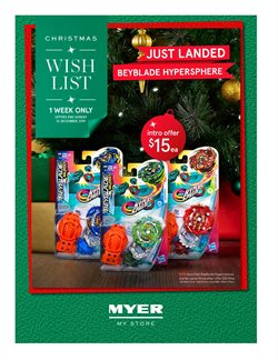 Offers from Myer in the Adelaide SA catalogue