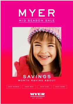 Myer catalogue in Melbourne VIC ( Expires today )