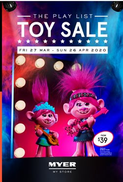 Myer catalogue in Brisbane QLD ( 19 days left )