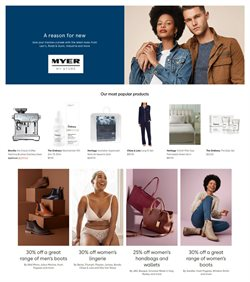 Myer catalogue ( 6 days left )