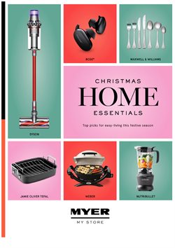Christmas specials in the Myer catalogue ( 10 days left)