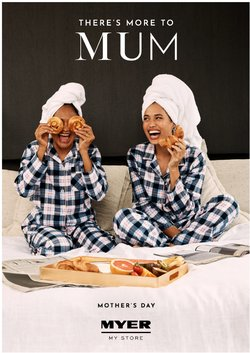 Mother's day specials in the Myer catalogue ( 3 days left)