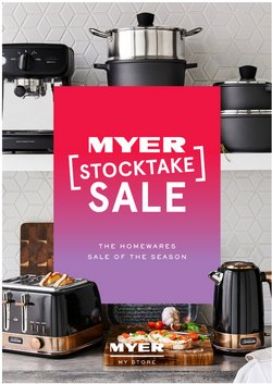 Myer specials in the Myer catalogue ( 26 days left)