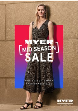 Myer specials in the Myer catalogue ( 12 days left)