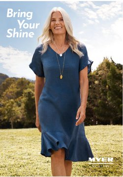 Department Stores specials in the Myer catalogue ( Published today)