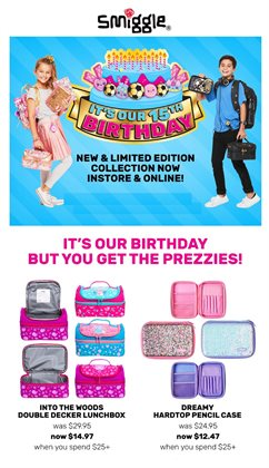 Offers from Smiggle in the Melbourne VIC catalogue