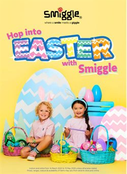 Books & Hobby offers in the Smiggle catalogue in Brisbane QLD ( 10 days left )