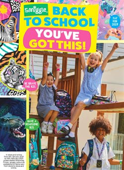 Back To School specials in the Smiggle catalogue ( 21 days left)