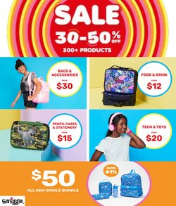 Smiggle specials in the Smiggle catalogue ( 15 days left)