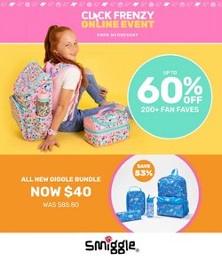 Smiggle specials in the Smiggle catalogue ( Expired)