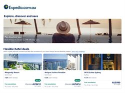 Expedia catalogue ( More than one month )