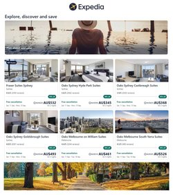 Expedia specials in the Expedia catalogue ( 25 days left)