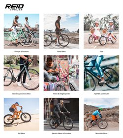 Reid Cycles catalogue ( More than one month )