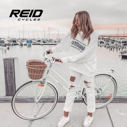 Reid Cycles specials in the Reid Cycles catalogue ( More than one month)