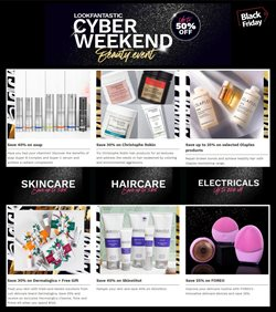 Pharmacy, Beauty & Health offers in the Lookfantastic catalogue in Sydney NSW ( Expires today )
