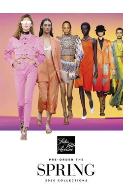Saks Fifth Avenue catalogue ( More than one month )