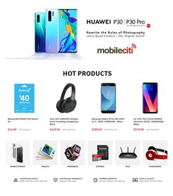 Offers from Mobileciti in the Sydney NSW catalogue