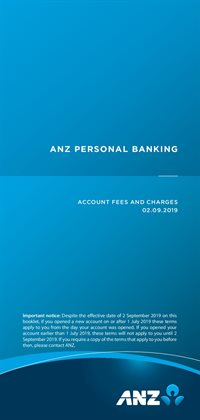 Banks offers in the ANZ catalogue in Canberra ACT