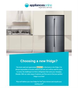 Appliances Online catalogue ( 28 days left )