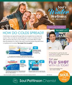 Offers from Soul Pattinson Chemist in the Sydney NSW catalogue