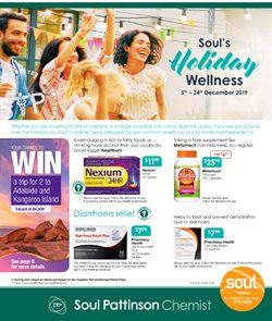 Pharmacy, Beauty & Health offers in the Soul Pattinson Chemist catalogue in Yass NSW