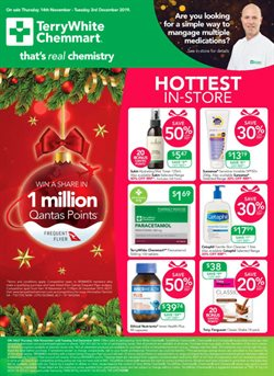 Offers from Chemplus in the Adelaide SA catalogue