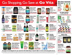 Offers from Go Vita in the Sydney NSW catalogue