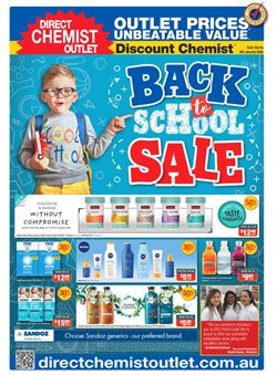 Offers from Direct Chemist Outlet in the Melbourne VIC catalogue