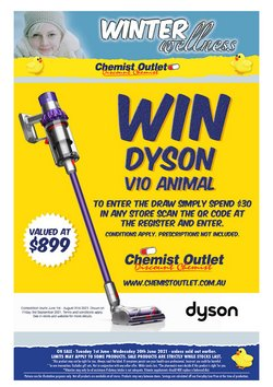 Chemist Outlet specials in the Chemist Outlet catalogue ( 11 days left)