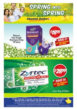 Chemist Outlet specials in the Chemist Outlet catalogue ( 8 days left)