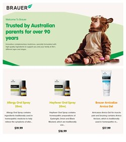 Pharmacy, Beauty & Health offers in the Brauer catalogue in Sydney NSW ( 17 days left )