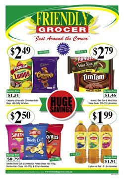 Offers from Friendly Grocer in the Sydney NSW catalogue