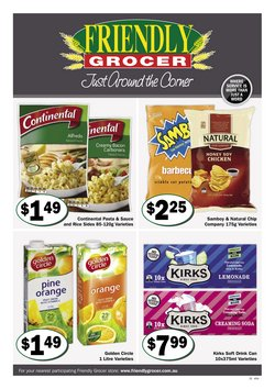 Friendly Grocer specials in the Friendly Grocer catalogue ( Expired)