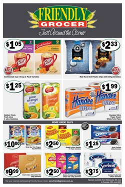 Friendly Grocer specials in the Friendly Grocer catalogue ( Expires today)