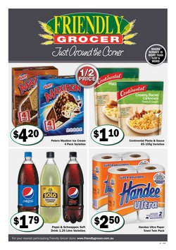 Friendly Grocer specials in the Friendly Grocer catalogue ( 3 days left)