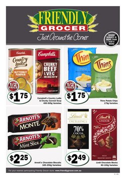 Friendly Grocer specials in the Friendly Grocer catalogue ( 4 days left)