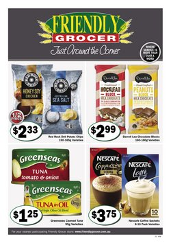 Supermarkets specials in the Friendly Grocer catalogue ( 2 days left)