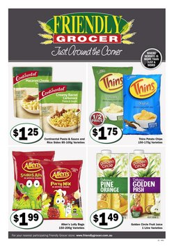 Friendly Grocer specials in the Friendly Grocer catalogue ( Expires tomorrow)